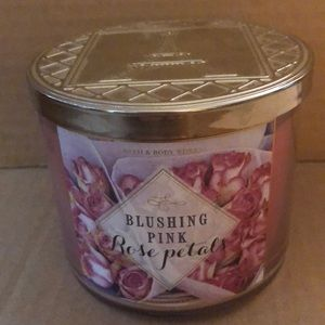 Other - Blushing Pink Rose Petals Candle